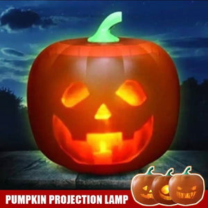 Halloween Flash Talking Singing Animated LED Pumpkin with Projector