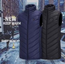 Load image into Gallery viewer, UNISEX WARMING HEATED VEST - ZZSales
