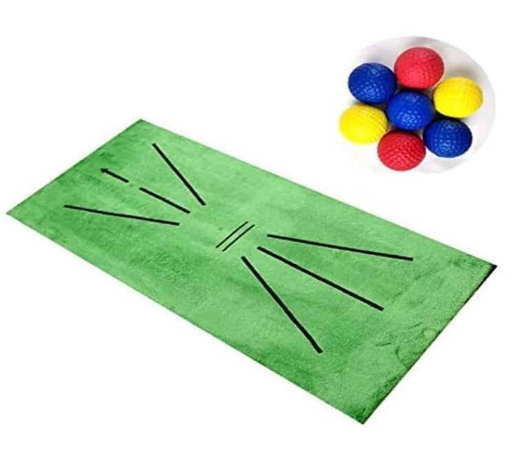 Golf Training Mat for Swing Detection Batting - ZZSales