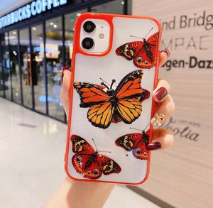 Butterfly Case With Phone Holder For iPhone - zzsales
