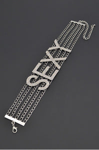 Choker Letter Name Necklace