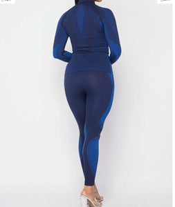 Blue Athletic Tracksuit