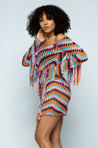 Mia Crochet Dress