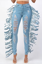 Load image into Gallery viewer, Savage Tassel Jeans