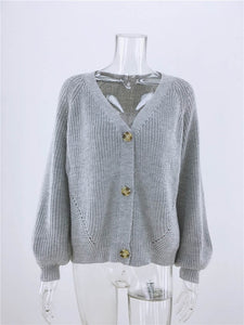 Simenual Casual Fashion Knitted Cardigan Sweater