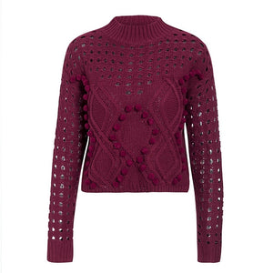 Stylish Knitted Pull Over Sweater