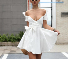 Load image into Gallery viewer, Sexy Deep V Off Shoulder Party Dress