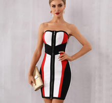 Load image into Gallery viewer, Sasha Fierce Bodycon Bandage Dress