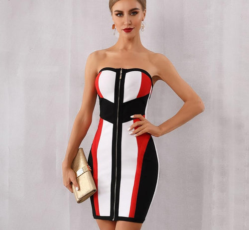 Sasha Fierce Bodycon Bandage Dress