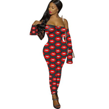 Load image into Gallery viewer, Wild Side Mesh Print Jumpsuit