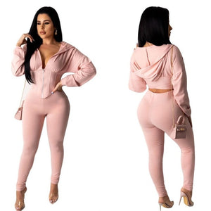 Viyani Leisure Pants Set