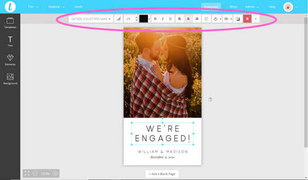Where To Find Your Template's Editing Tools