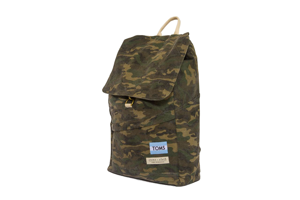 TOMS Co Branded Backpack For Employees