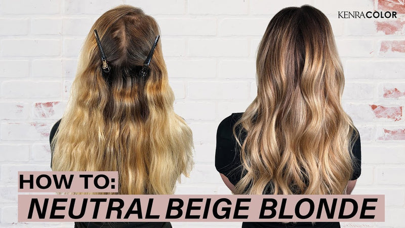 How To: Neutral Beige Blonde