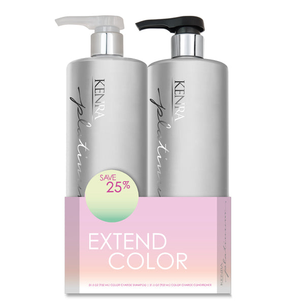 Kenra Platinum Color Charge Liter Duo