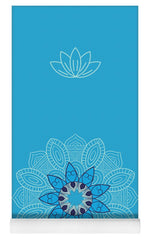 Load image into Gallery viewer, Ice Mandala - Yoga Mat eco-friendly PVC - 8 Petals Apparel