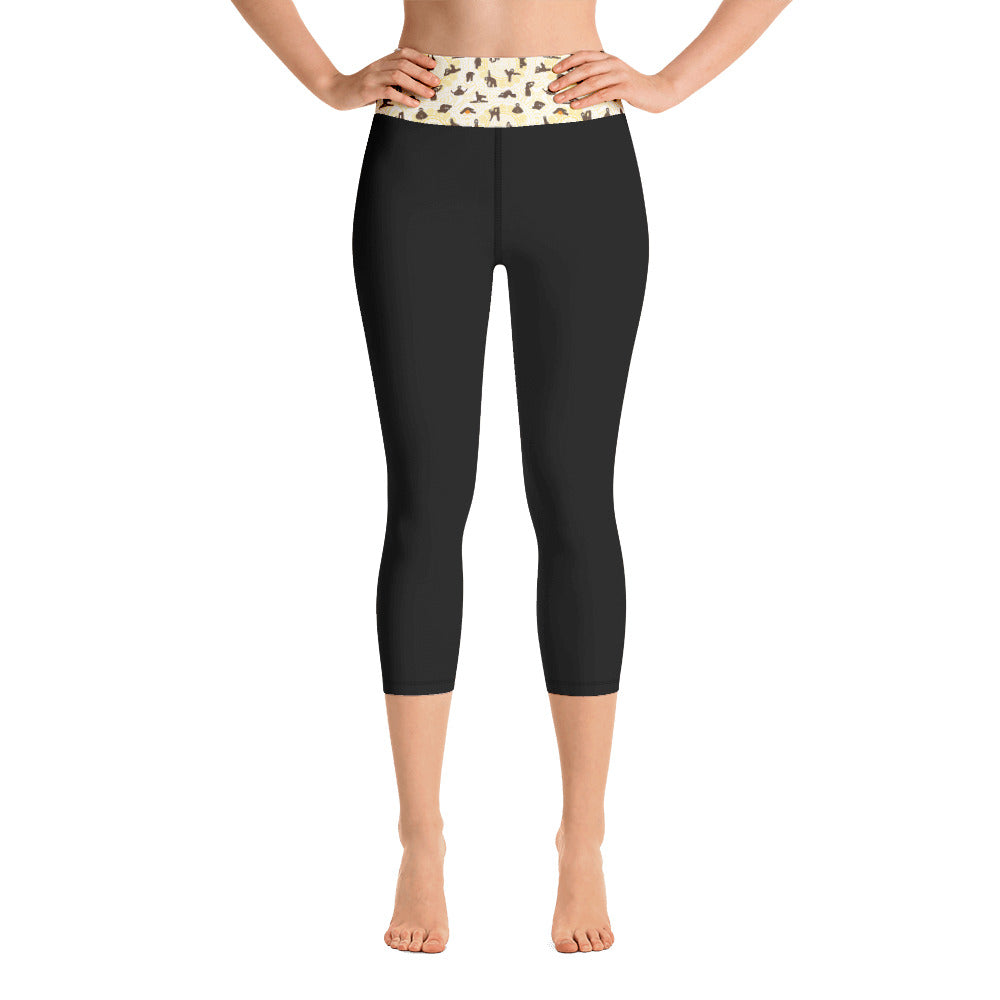 Sloths Yoga Leggings - 8 Petals Apparel