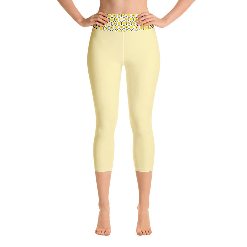 Bumble Bees Yoga Leggings - 8 Petals Apparel