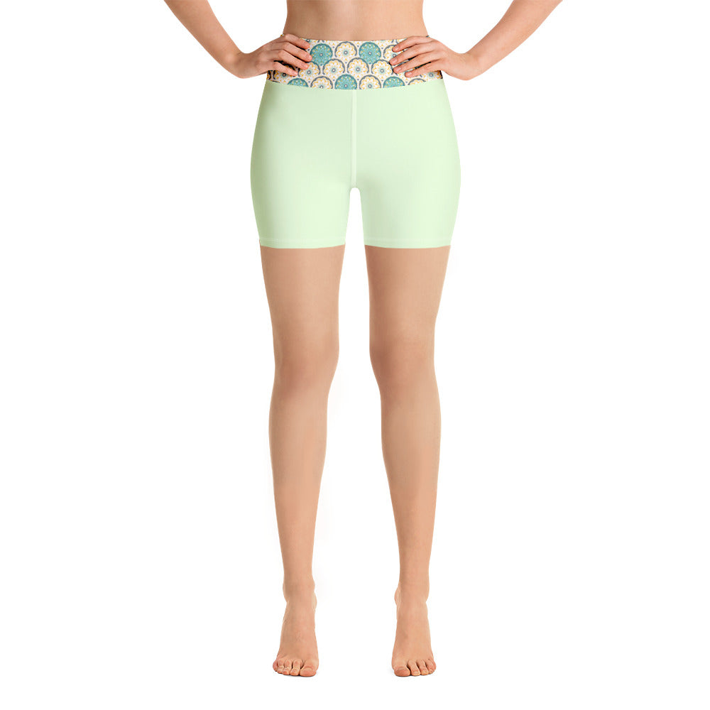 Zesty Zen Yoga Leggings - 8 Petals Apparel