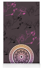 Load image into Gallery viewer, Pink Leaf Mandala - Yoga Mat eco-friendly PVC - 8 Petals Apparel