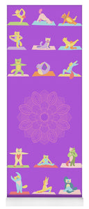 Yoga Cats - Yoga Mat eco-friendly PVC - 8 Petals Apparel