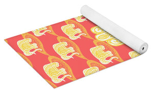Golden Palm - Yoga Mat eco-friendly PVC - 8 Petals Apparel