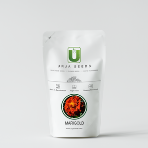 Marigold French Red Brocade