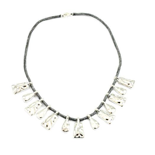 Short Beaten Drop Choker