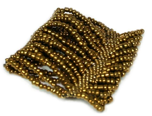 Stretchy Beaded Cuff - Flamingo Boutique