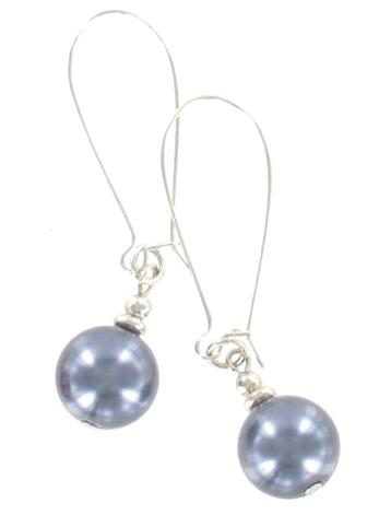 Simple Pearl Drop Earrings - Flamingo Boutique