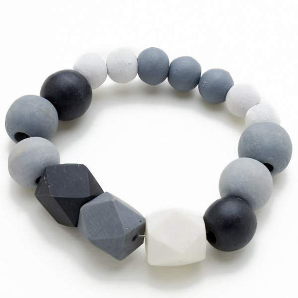 Elasticated Resin Bracelet