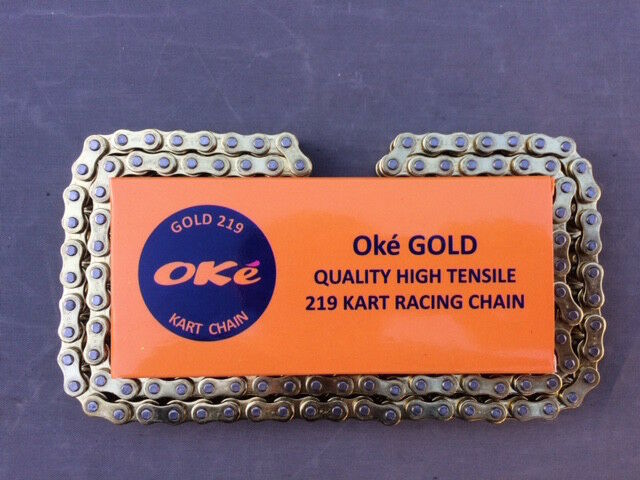 114 Link 219 Go Kart Chain Oke GOLD - BEST PRICE/QUALITY