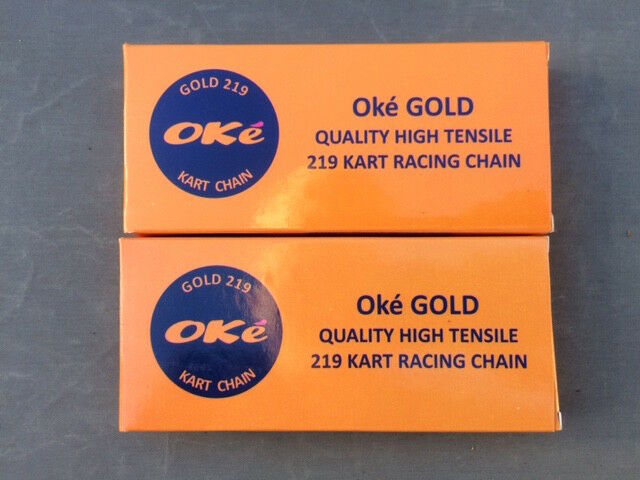 110 Link 219 Go Kart Chain Oke GOLD - BEST PRICE/QUALITY