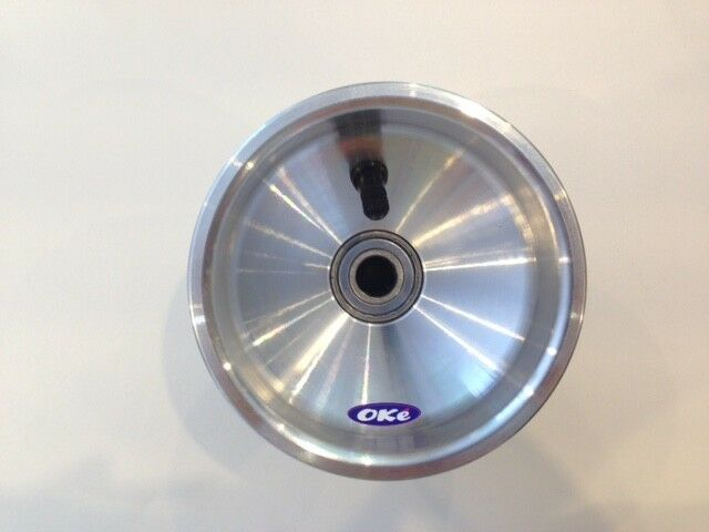 Oke HIGH QUALITY Italian 125mm Wide Front Alloy Offset Kart Wheel
