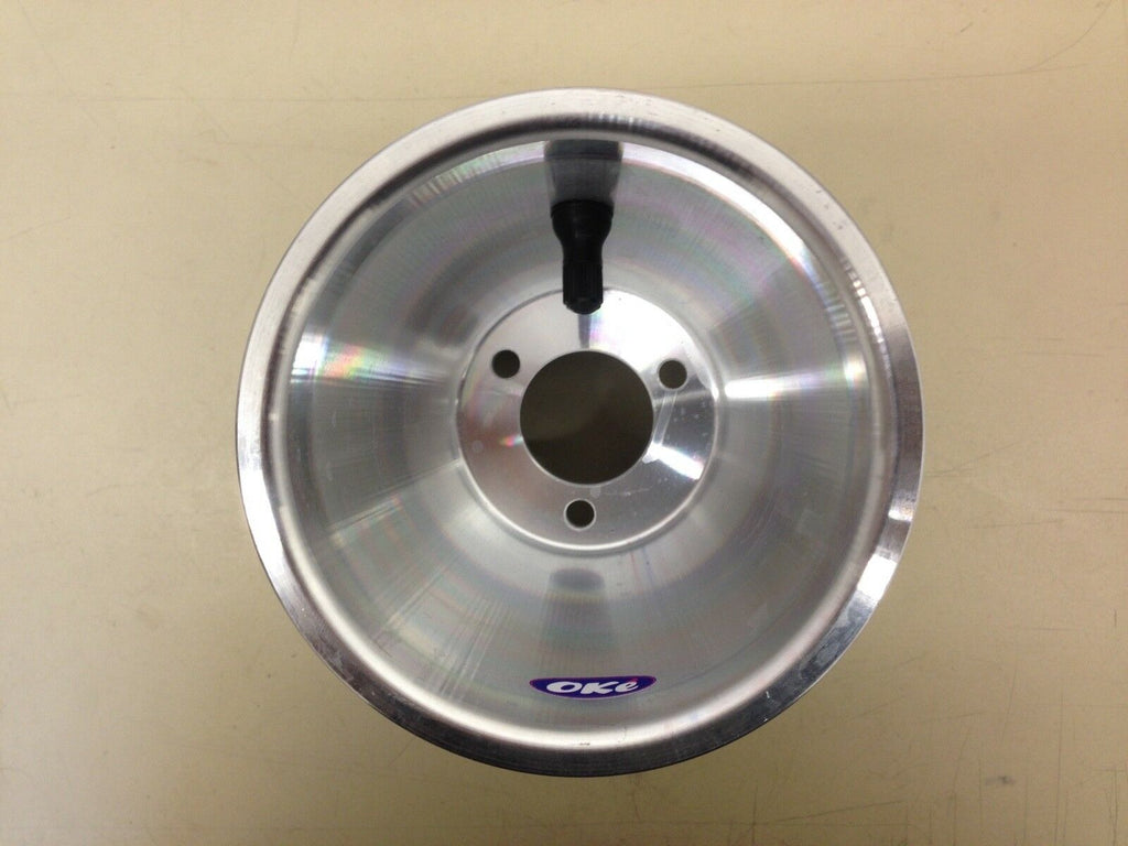 Oke HIGH QUALITY Italian 180mm Wide x 5 Inch Hub Mounted Alloy Kart Wheel