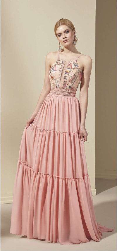 Chiffon A-Line Prom Dress - Prom Dresses | janaanncouture.com