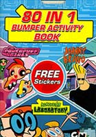 80 IN 1 BUMPER ACTIVITY BOOK FREE STICKERS