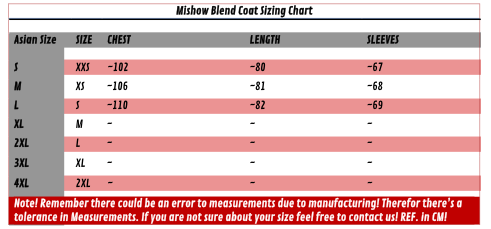 Mishow Blend Coat - Far East Hype