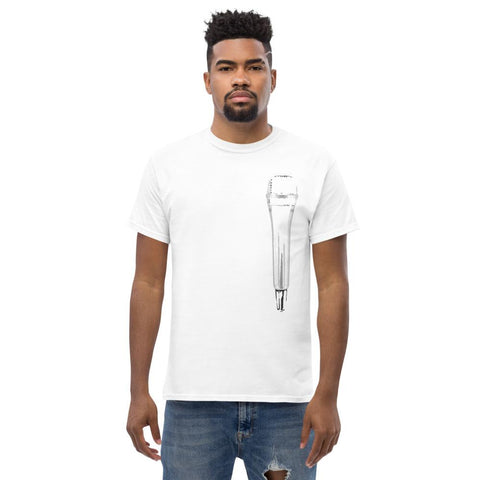 Image of Microphone T-Shirt (White) - Far East Hype