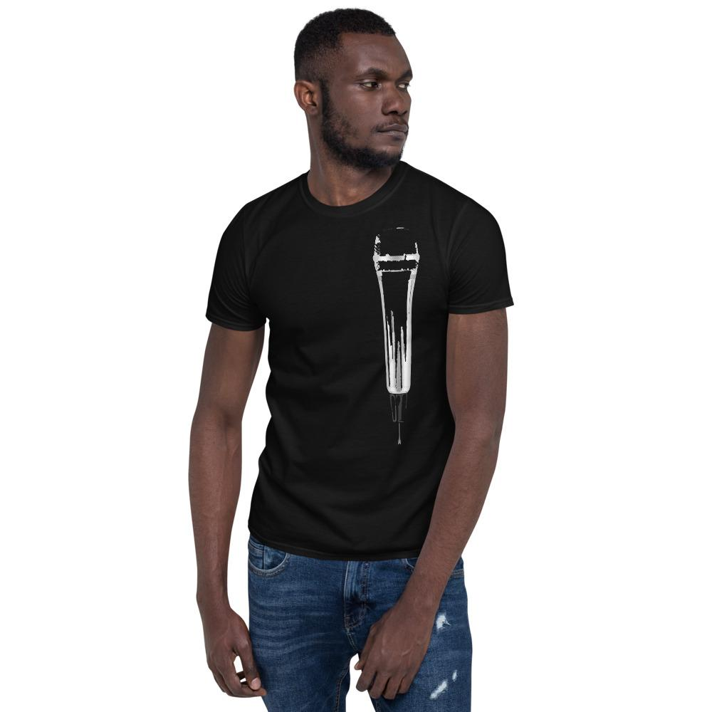 Microphone T-shirt (Black / Blue / Grey) - Far East Hype