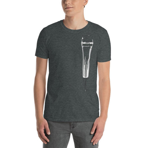 Image of Microphone T-shirt (Black / Blue / Grey) - Far East Hype