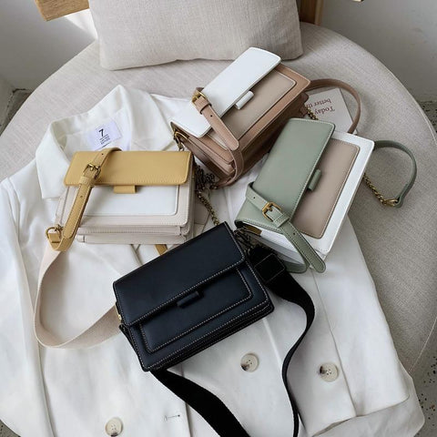 Contrast Crossbody Bag - Far East Hype