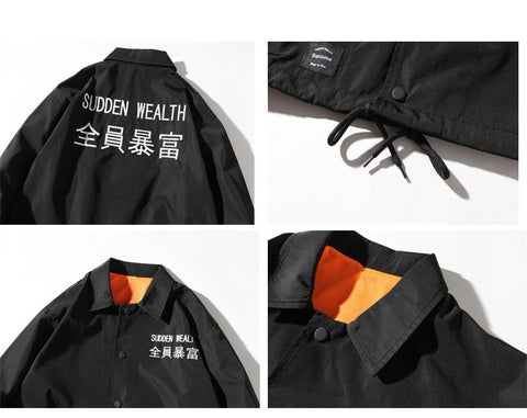 Shibuya Coach Jacket - Far East Hype
