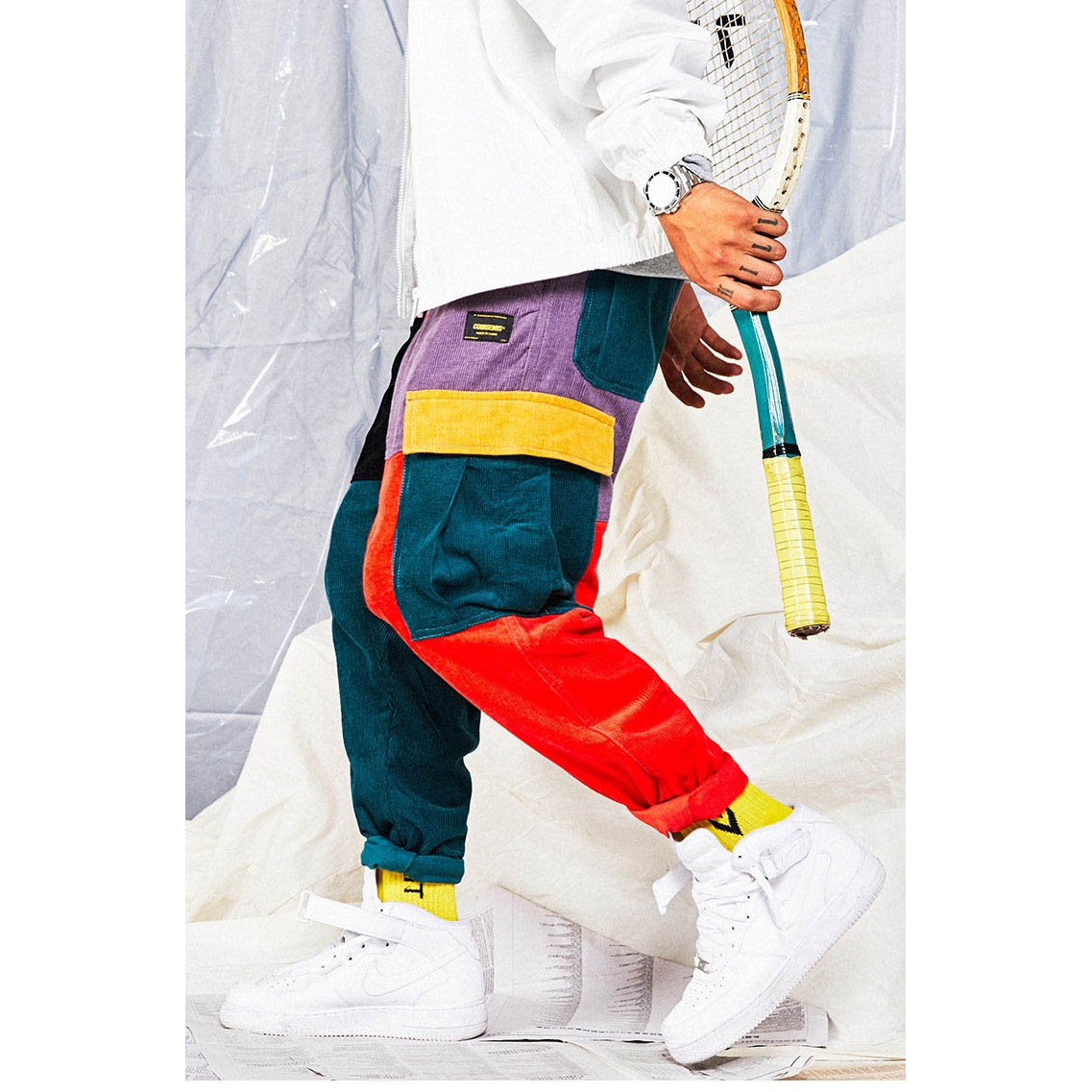 Vinny Patchwork Sweatpants - Far East Hype