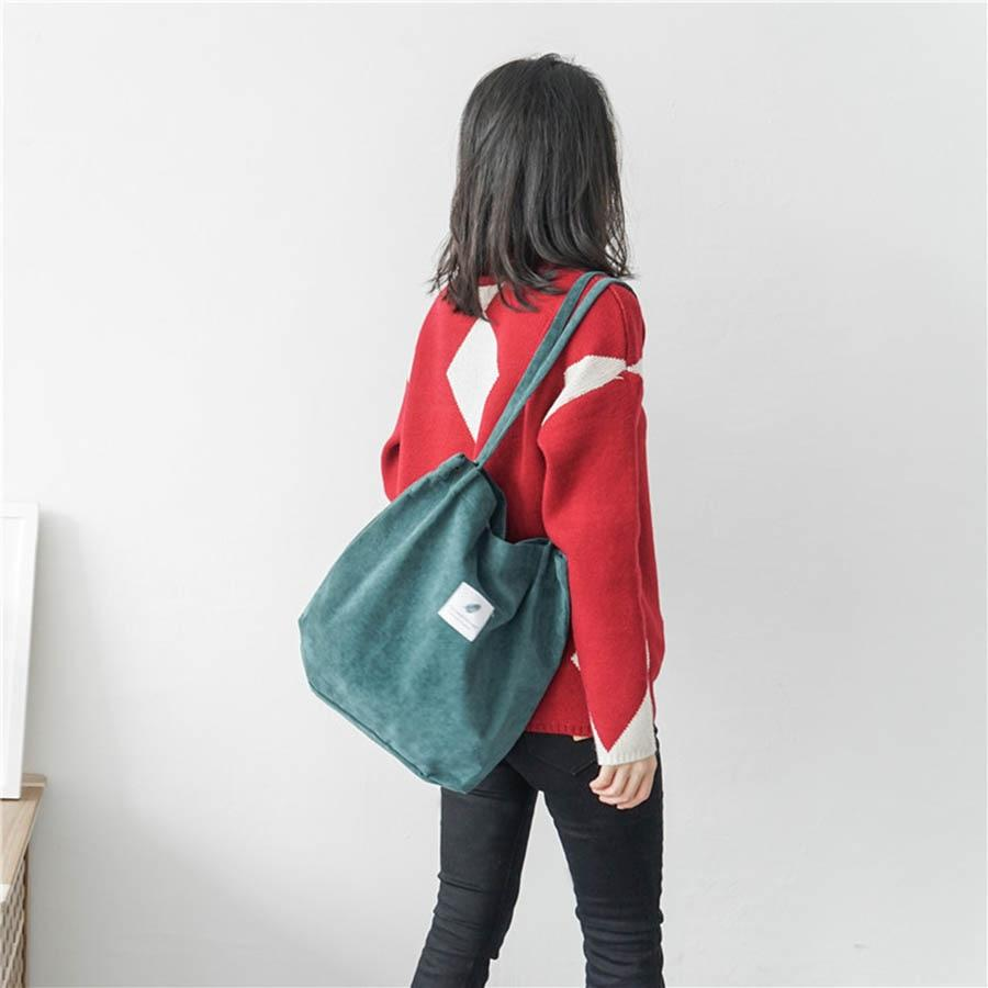Corduroy Tote - Far East Hype