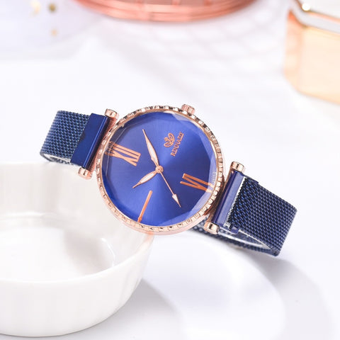 Rinnandy Watch and Jewelry Set 5Pcs