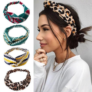 Summer Breeze Headband Wild Cat BW - Far East Hype
