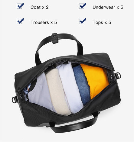 Image of Ozuko Multi-Travel Duffel - Far East Hype