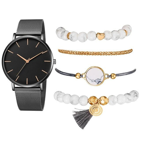 Image of L'Oro Orologio Marble Set