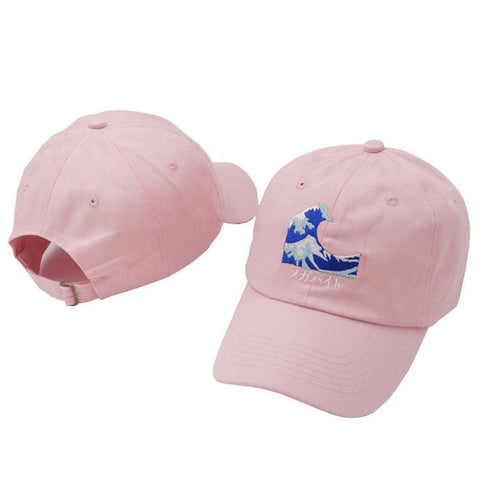 Image of The Great Wave Strapback Cap